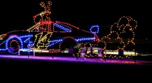 Drive Through Millions Of Lights At The Motor Speedway In Hampshire