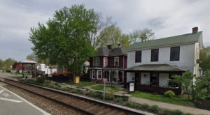 Nestled Next To The Main Street Railroad Tracks, The Little Kentucky River Winery Is Almost Too Charming