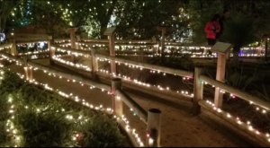 The Holiday Candlelight Walk At Heritage Hill Historical Park In Southern California Is Right Out Of A Storybook