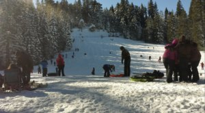 Take The Family For A Day Of Sledding On One Of The Biggest Hills In Northern California At Eskimo Hill