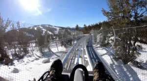 The Winter Coaster In Northern California That Will Take You Through A Snowy Mountain Wonderland