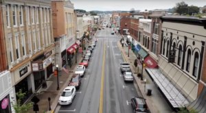 Bristol, Virginia Is One Of The Only Cities In America Whose Main Street Is Shared Between Two States