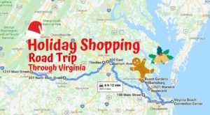 Virginia's Holiday Shopping Road Trip Will Take You To Antique Stores, Holiday Markets, And Festive Local Shops