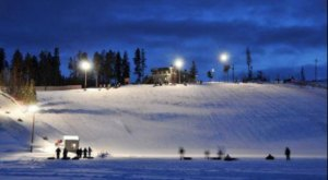 Try The Ultimate Nighttime Adventure With Snow Tubing At Fraser Tubing Hill In Colorado