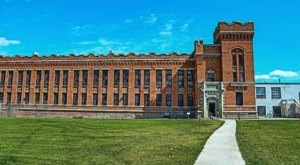 A Night Inside The Haunted Old Montana State Prison Isn't For The Faint Of Heart