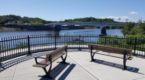 Enjoy A Charming Stroll Over New York's Mohawk Valley Gateway Overlook Bridge, Named One Of The Top Great Places In America