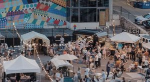 Find The Perfect Gift Under The Lights Of The Gulch Night Market, A Monthly Artisan Market In Nashville