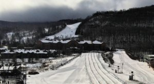The Longest Snow Tubing Run In New York Can Be Found At Hunter Mountain
