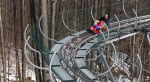 The Winter Coaster Near Buffalo That Will Take You Through A Snowy Mountain Wonderland