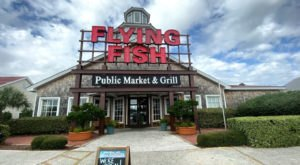 Make Sure To Come Hungry To The Build-Your-Own Seafood-Boil Restaurant, Flying Fish, In South Carolina