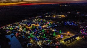 Adventure Through An Enchanted Wonderland Of Lights And Activities At Hill Ridge Farms In North Carolina