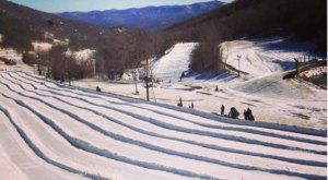The Longest Snow Tubing Run In North Carolina Can Be Found At Hawksnest Snow Tubing