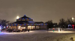 Stroll Through Beautiful Christmas Lights And Roast Marshmallows During The Holiday Nights At North Dakota's Red River Zoo