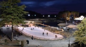 Twirl Around The Largest Outdoor Ice Rink In North Carolina This Winter At U.S. National Whitewater Center