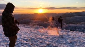 This Easy And Beautiful Hike At Max Patch Should Be Added To Your North Carolina Winter Bucket List This Year