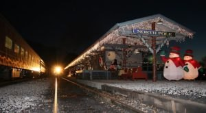 Take A Train To The North Pole And Visit Santa With The Tennessee Valley Railroad Museum