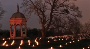 Drive Through Five Miles Of Inspiring Lanterns At Antietam's Memorial Illumination In Maryland