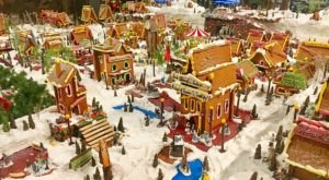 The Gingerbread Village At The Hotel Captain Cook In Alaska Is The Stuff Of Christmas Dreams