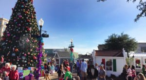 Go Walking In A Winter Wonderland In Andalusia, An Alabama Town That's Full Of Festive Fun
