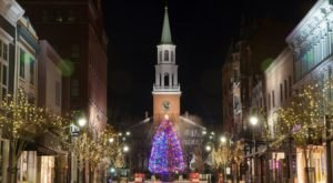 The Church Street Lighting Festival In Vermont Will Transport You To A Winter Wonderland