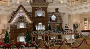 Wander Through The Deliciously Giant Gingerbread House In Florida At Disney's Grand Floridian Resort