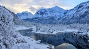 The Albert Loop Is A Stunning Trail To Admire Alaska's Fresh Snowfall