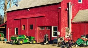 Sip Barn-Brewed Beers At Tilted Barn Brewery In Rhode Island