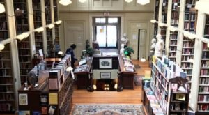 The Providence Athenaeum In Rhode Island Is A Book Lover's Happy Place
