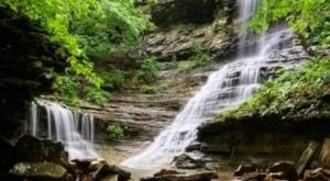 The Short And Sweet Indian Falls Trail In Arkansas Takes You To Two Stunning Waterfalls