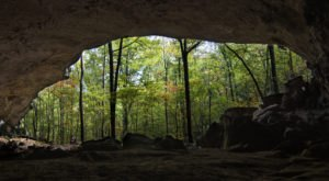 A Magnificent Archaeological Treasure Is Along The Indian Rock House Trail In Arkansas