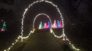The Gardens Transform Into A Winter Wonderland During Christmas At Kingwood In Ohio
