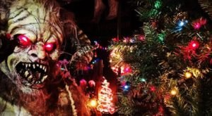 Have Yourself A Scary Little Christmas At Bennett's Curse Haunted House In Maryland