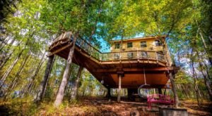 There's A Treehouse Airbnb In Kentucky And It's The Perfect Little Hideout
