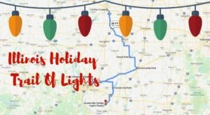 Everyone Should Take This Spectacular Holiday Trail Of Lights In Illinois This Season