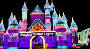 Texas' Magical Winter Lights Is The Largest Holiday Lantern Festival In America