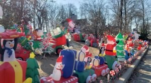 The New Jersey Christmas Display That's Been Named One Of The Biggest In The U.S.