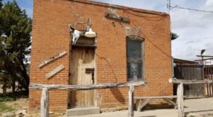 The Tiny Ghost Town Of White Oaks, New Mexico Is Hiding The Ramshackle No Scum Allowed Saloon