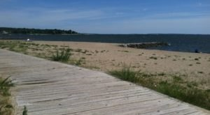 Oakland Beach Has A Seaside Boardwalk In Rhode Island That Stretches For Over A Mile