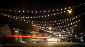 Stroll Through A Canopy Of Christmas Lights On Jenks Main Street, Oklahoma's Most Splendid Street