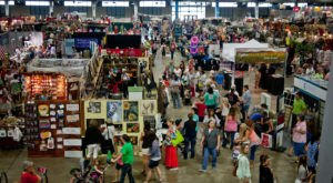 One Of The Largest Arts And Crafts Shows In The Country Can Be Found At An Affair Of The Heart In Oklahoma