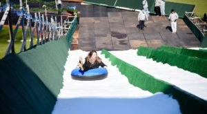 Slide Down The Largest Man-Made Tubing Slope In The Region At Lifeshare Winterfest In Oklahoma