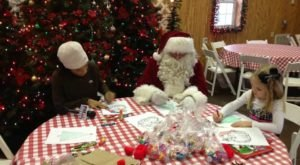 Your Whole Family Can Enjoy Eating Pancakes With Santa At Orr Family Farm In Oklahoma