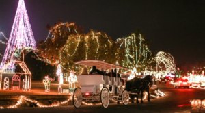 Enjoy One Of The Top Ten Holiday Light Shows In The Nation At The Chickasha Festival Of Light In Oklahoma