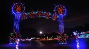 Drive Through Millions Of Lights At Yukon's Christmas In The Park In Oklahoma This Holiday Season