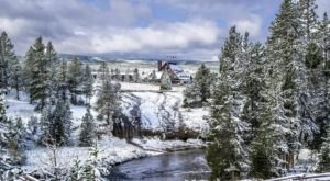 Winter Is Actually The Best Time Of Year To Visit Wyoming's World Famous Yellowstone National Park