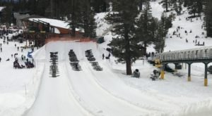 The Longest Snow Tubing Run In Northern California Can Be Found At Heavenly Mountain