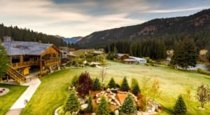 Have A Memorable Stay At Rainbow Ranch Lodge In Montana, A Former Working Cattle Ranch