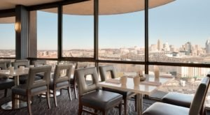 The City Views From Eighteen At The Radisson In Kentucky Are As Praiseworthy As The Food