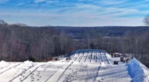 The Longest Snow Tubing Run In Rhode Island Can Be Found At Yawgoo Valley Ski Area