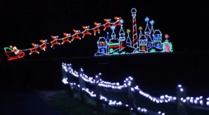 Drive Through 2.5 Million Holiday Lights At Watkins Regional Park In Maryland